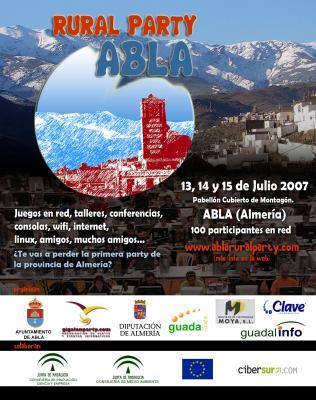 La ABLA 'Rural Party' es un acontecimiento para los amantes de la Informática y de las nuevas tecnologías de la Información y la Comunicación en el que puedes participar