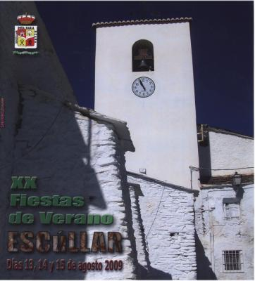 FIESTAS DE ESCÚLLAR 2009