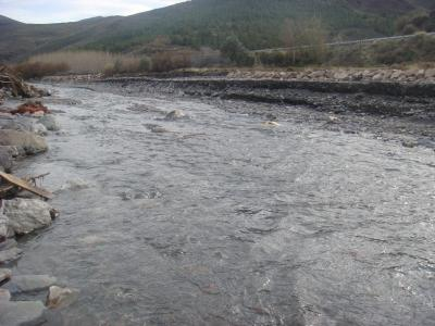 El río Nacimiento a su paso por Las Tres Villas