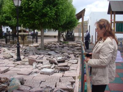 Remodelación y embellecimiento de la Plaza Juan Romero Aguilar