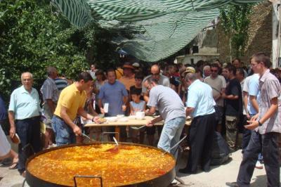 Gran éxito de participación en las fiestas de Escullar