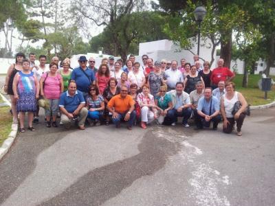 Desde ayer un grupo de de 55 vecinos de Las Tres Villas pasarán 6 días en la Residencia de Tiempo Libre de Marbella
