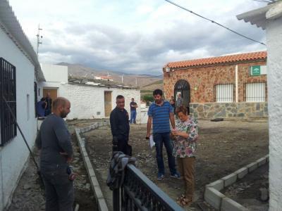 Comienzan las obras de remodelación y embellecimiento de la Plaza del Cerrillo en Doña María